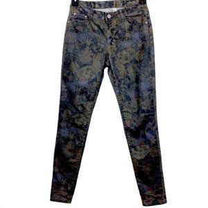 Tempo Paris Floral Skinny Jeans 26x31-N154